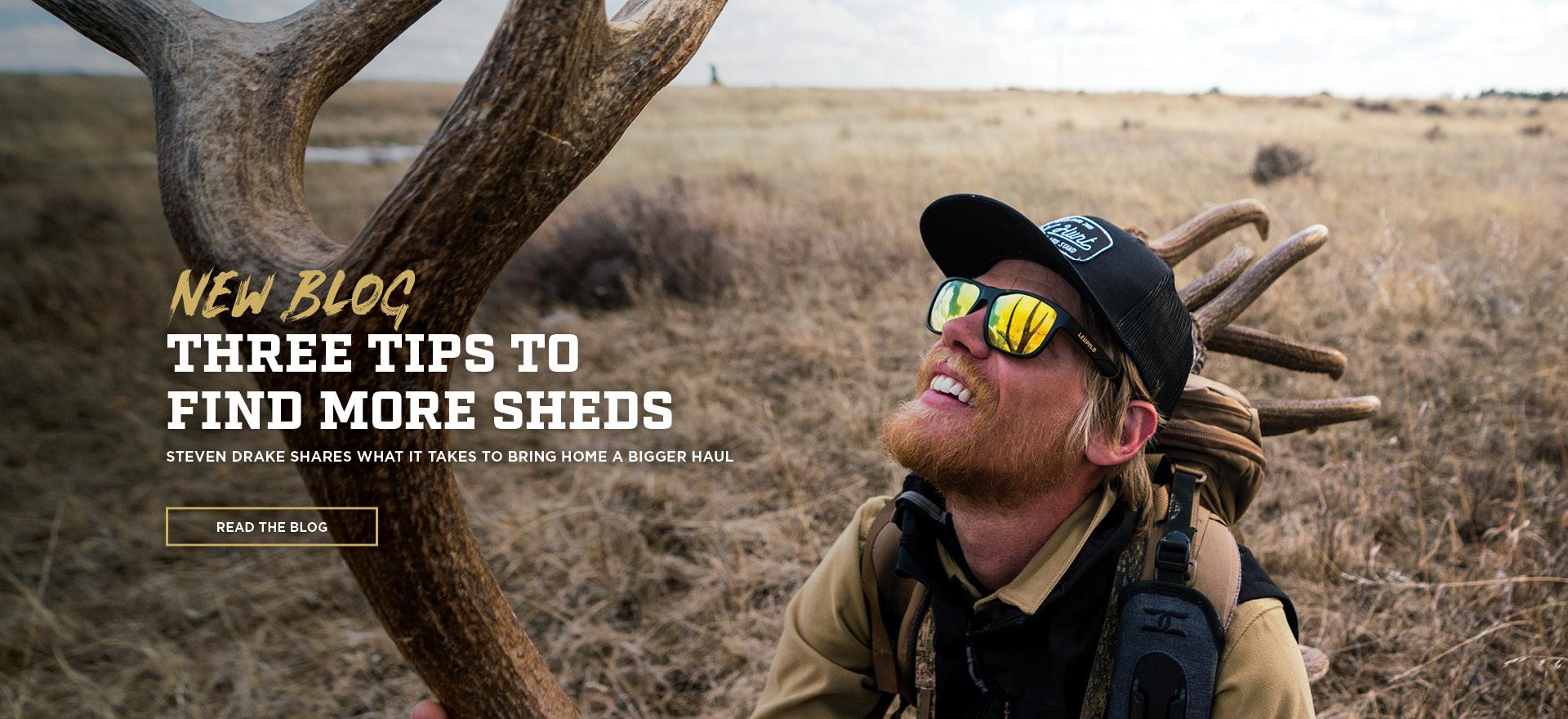 Blog: Shed Hunting Tips