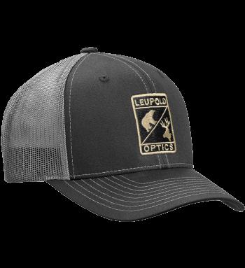 L Optic Trucker Hat Black / Charcoal