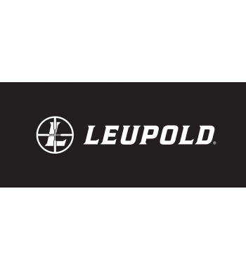 "Leupold Decal Horizontal 12"" White"