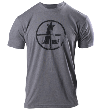 Distressed Reticle Tee Graphite-Heather