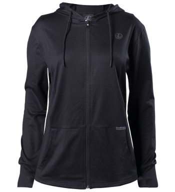 Women's Performance Hoodie - Black