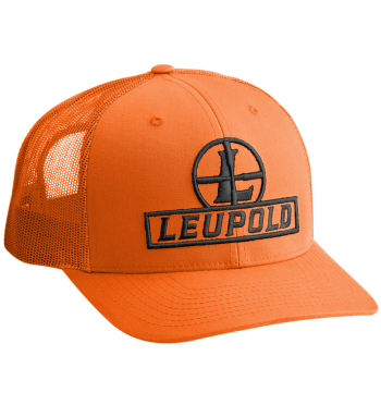Leupold Reticle Trucker Blaze Orange