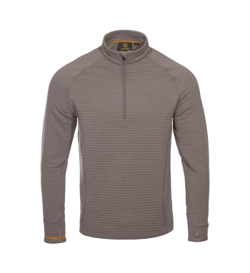 McKinley Ridge ½ Zip Shadow Gray M