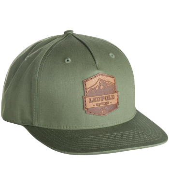 Mountain Leather Patch Hat