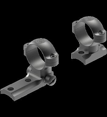 STD Savage 10/110 Round Rcvr 2-pc Base/1 Medium Rings Matte