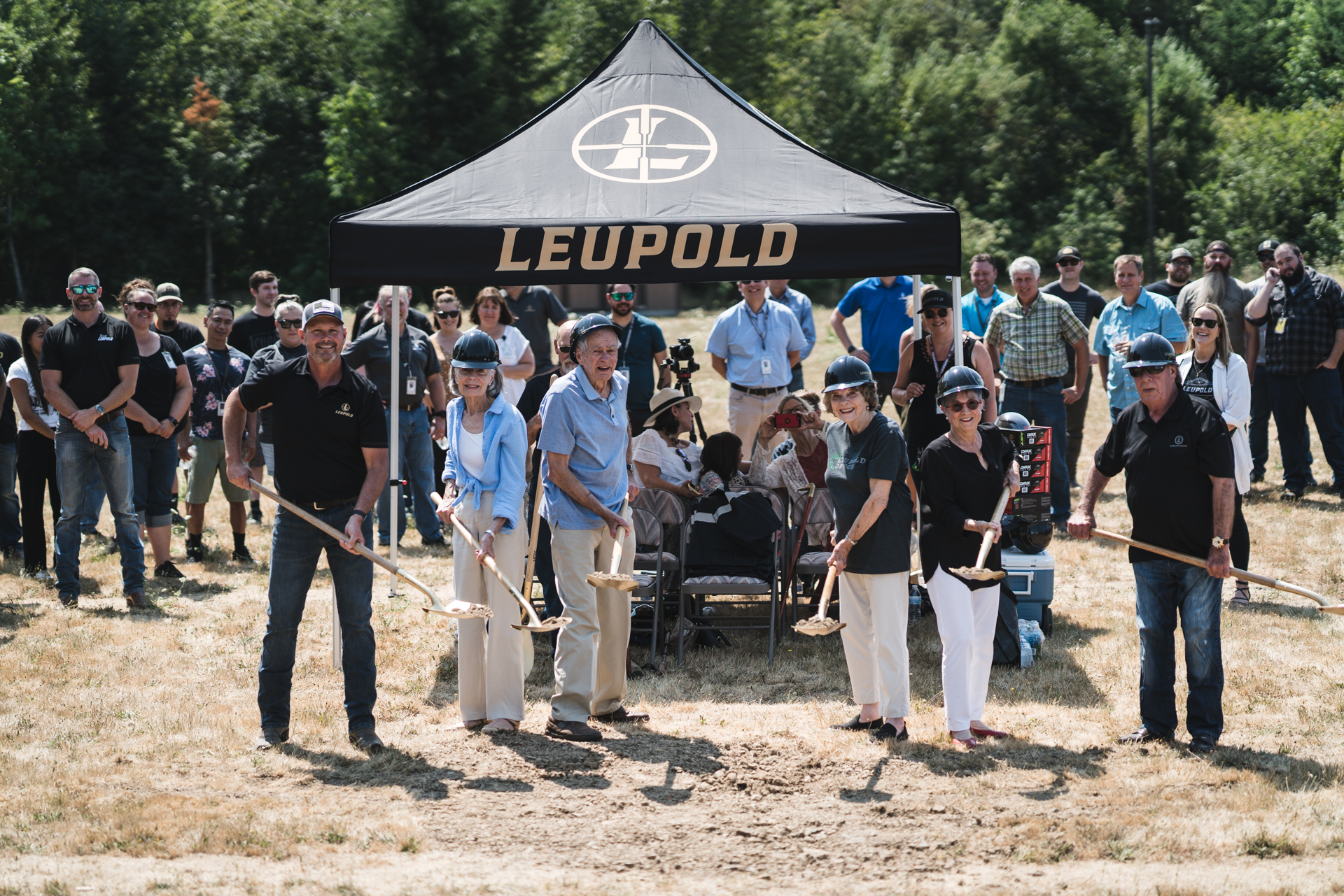 Leupold Breaks Ground on New Product Distribution Center