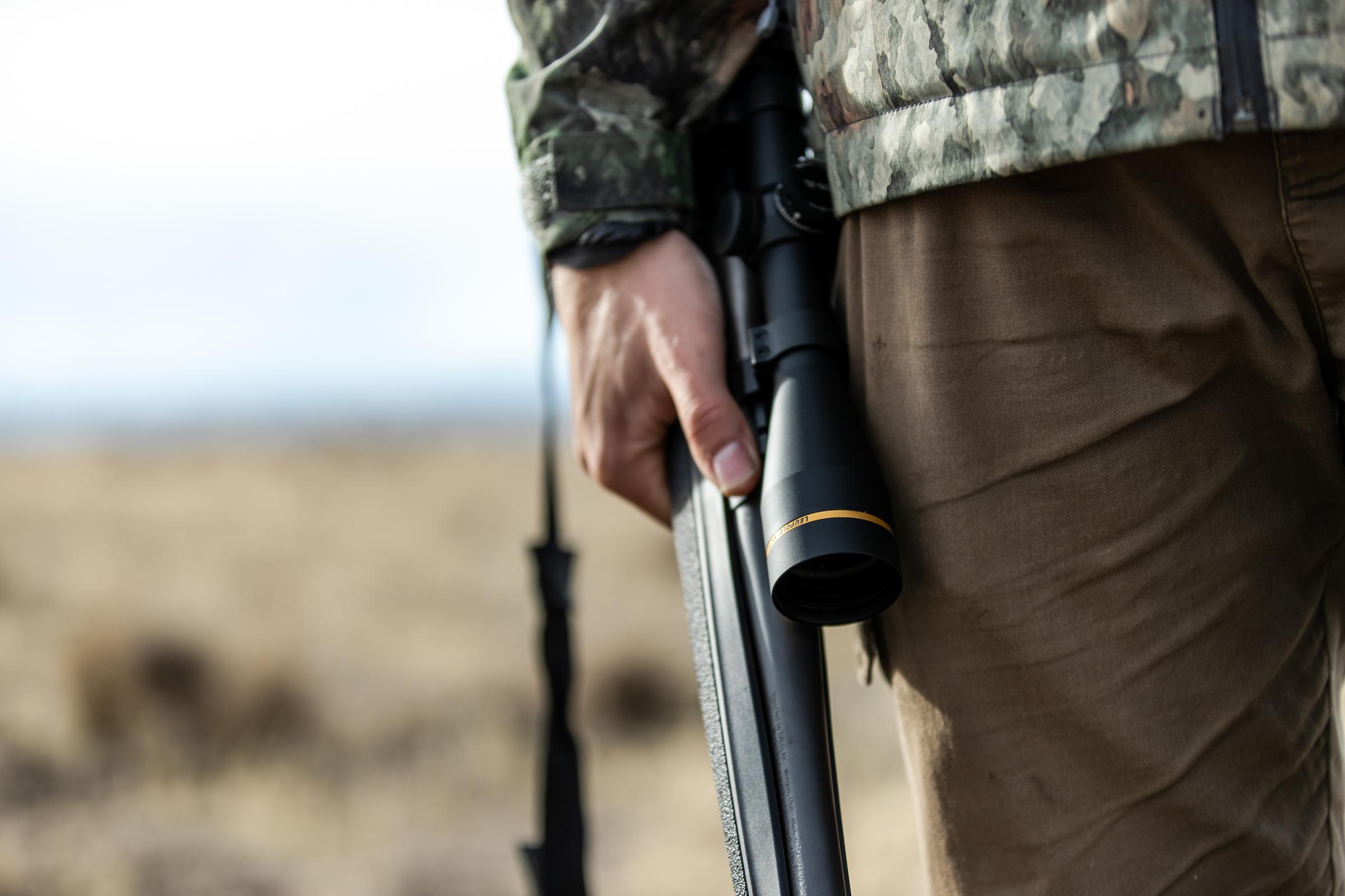 VX-3HD riflescope and hunter