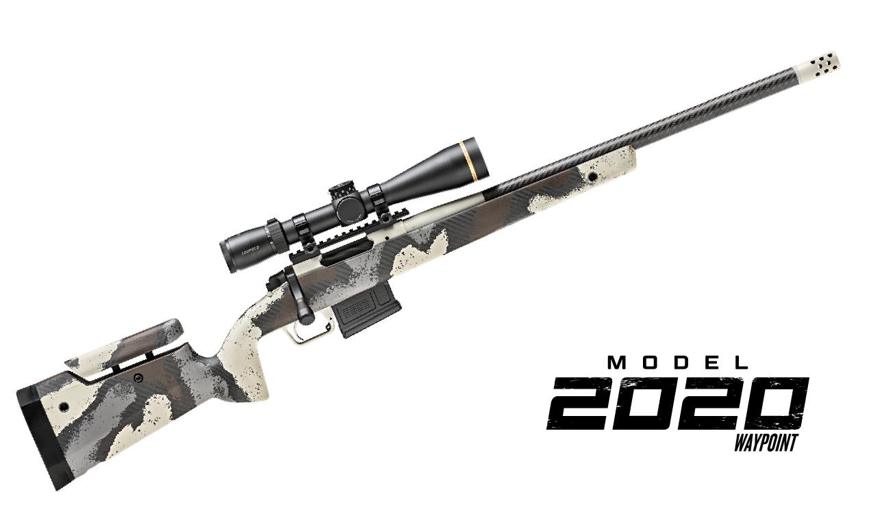 rifle with optic
