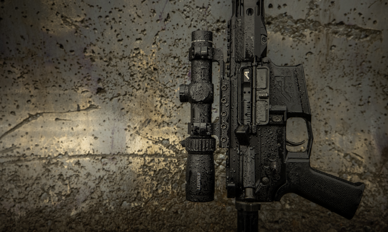 Mark 3HD tactical riflescope