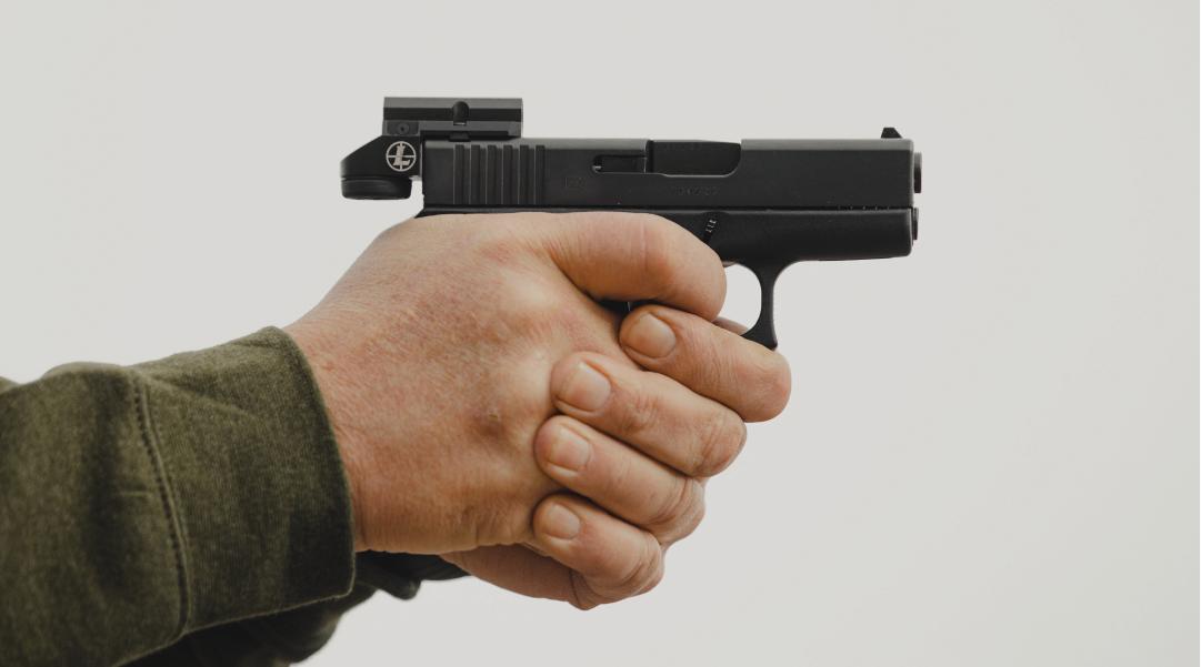 DeltaPoint Micro on Glock Handgun