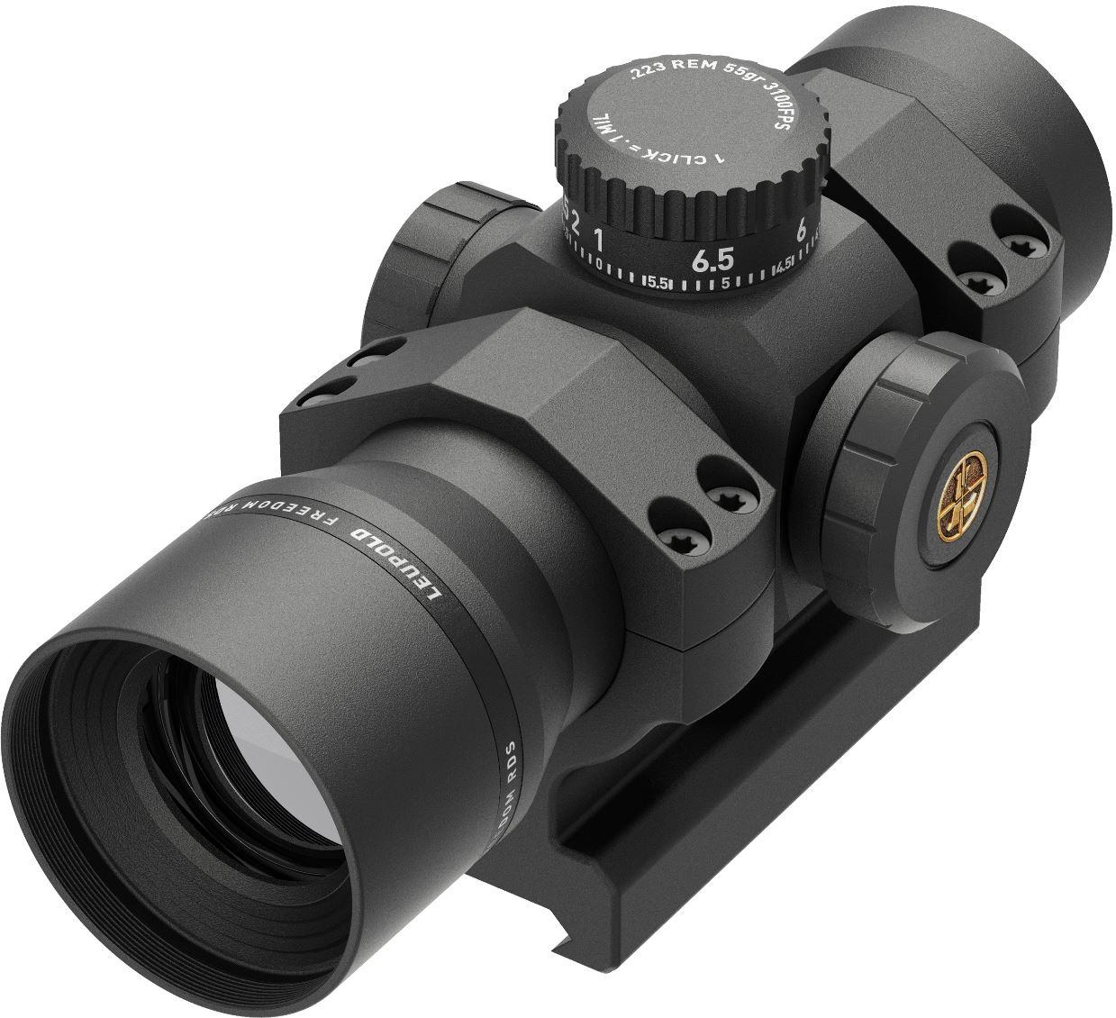 Leupold Announces New Black Ring Version of Freedom Red Dot Sight (RDS)