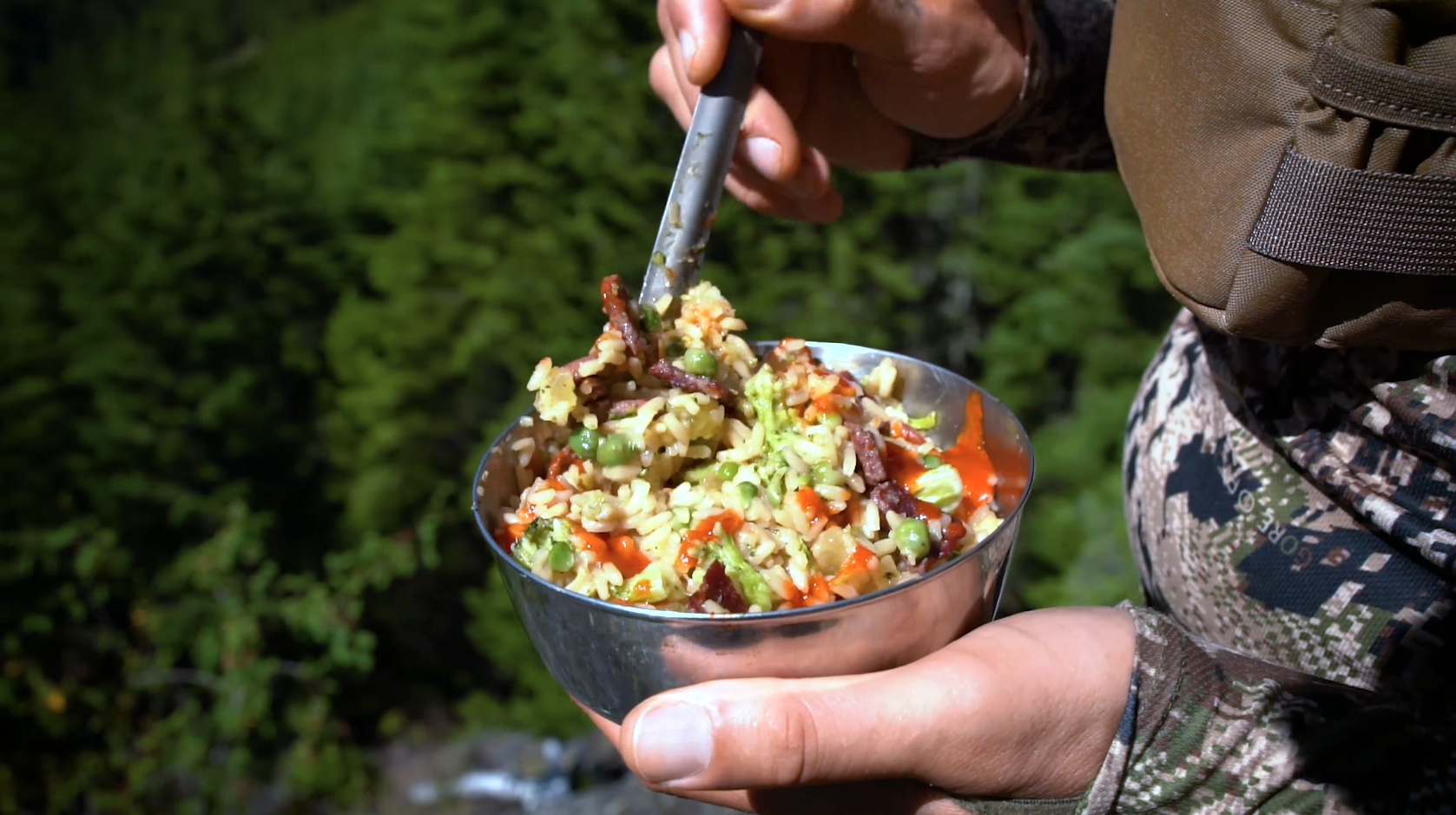 Field To Table: Mountain Venison & Rice